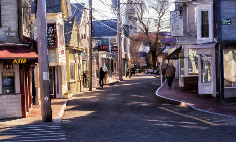 Winter in Provincetown - Color
