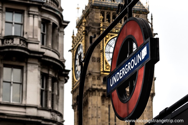 The Tube and Big Ben
