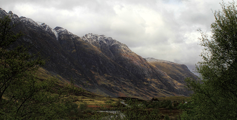 Approaching Glen Coe