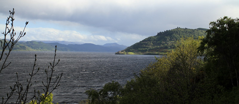 Views to Urquhart Castle