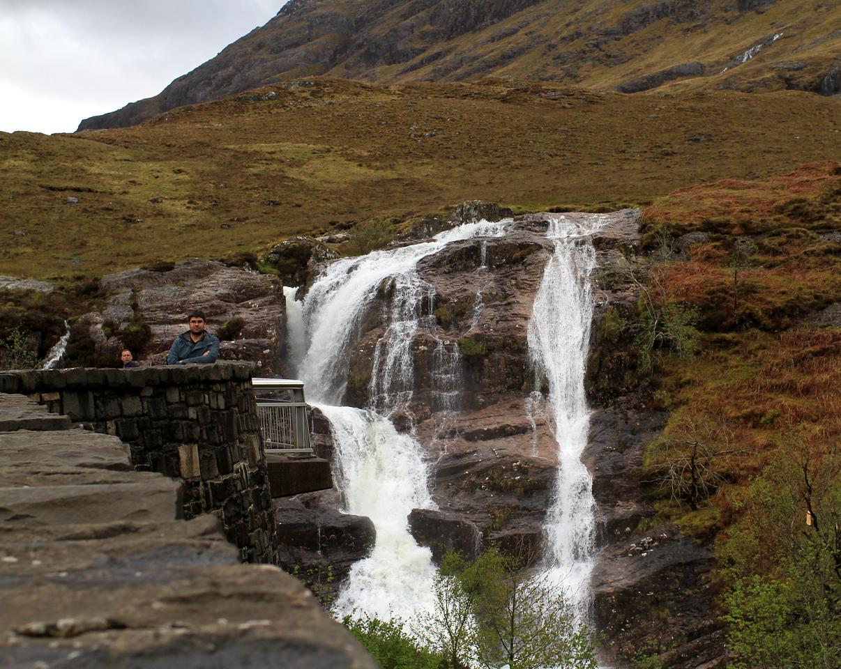 Majestic Graham at majestic waterfalls ^_^