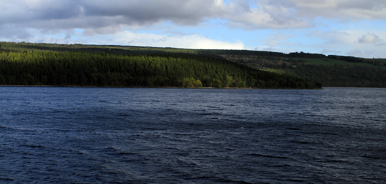 Loch Ness. No monsters spotted yet