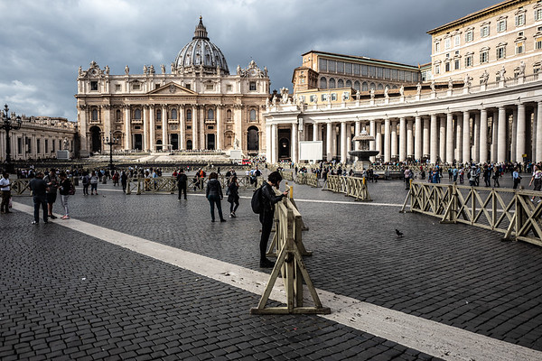 2018, Rome, St. Peter's Square