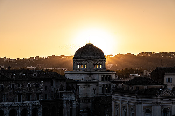 2018, Rome, View from Capitoline Hill