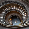 2018, Rome, Vatican Museum, Bramante Staircase