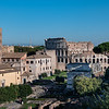 2018, Rome, Roman Forum, View from the Roman Forum