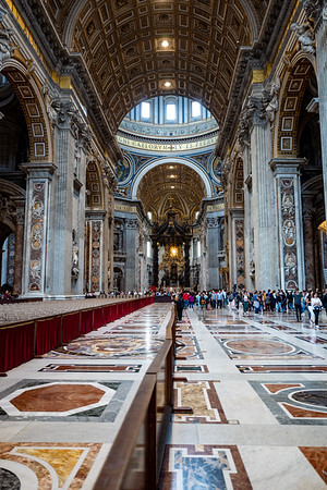 2018, Rome, St. Peter's Basilica