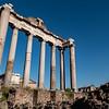 2018, Rome, Roman Forum, Temple of Saturn