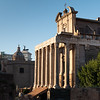 2018, Rome, Roman Forum, Temple of Antoninus and Faustina