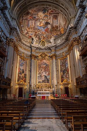 2018, Rome, Church of St. Ignatius Loyola
