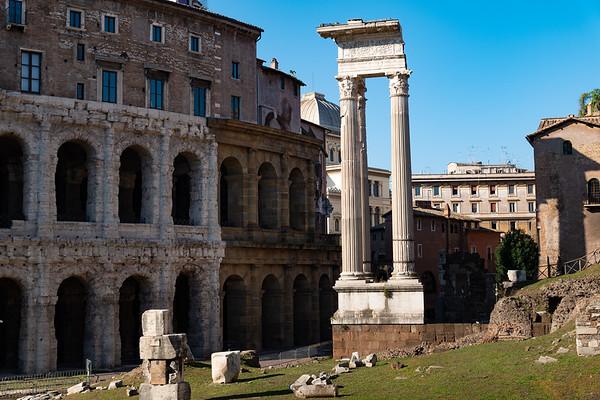 2018, Rome, Roman Forum, Temple of Apollo Sosianus