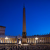 2018, Rome, Vatican Obelisk in St. Peter's Square