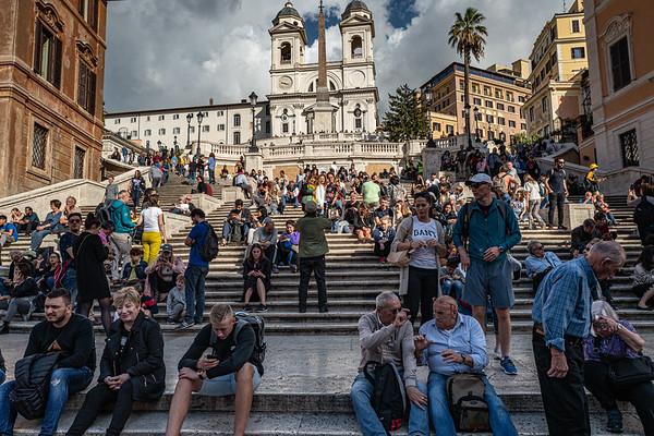 2018, Rome, Spanish Steps
