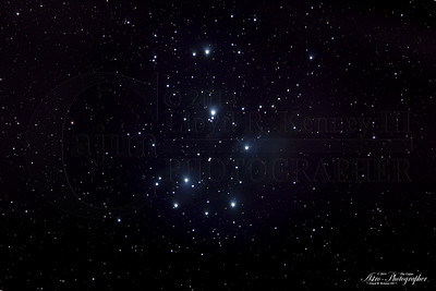 M45 Pleiades Star Cluster (My First)