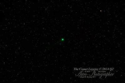 The Comet Lovejoy - C/2014 Q2