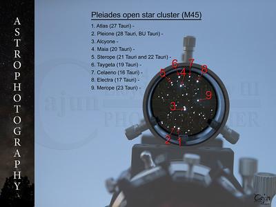 P L E I A D E S Open Star Cluster (M45)