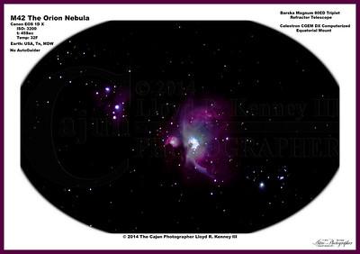 M42 The Orion Nebula