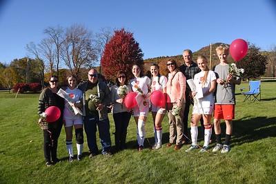 A Senior Moment...LTS Varsity Girls Soccer.photos by Gary Baker