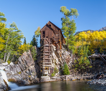 The Old Mill (Neutral Density filter here on water movement) was used to power drilling in the nearby mines