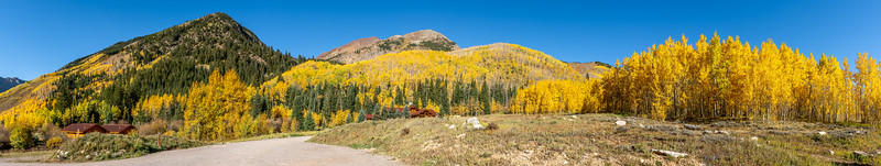 The drive up to Pine Creek Cookhouse in Aspen, CO was stunning