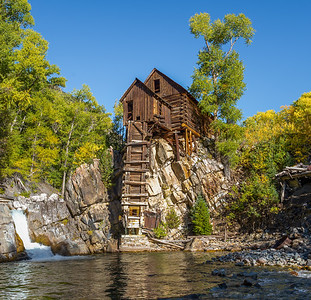 """The """"Old Mill"""" at Crystal Mill in Marble, Colorado"""