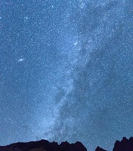 The Milky Way above Maroon Bells