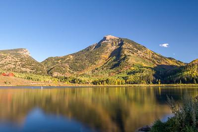 Marble Colorado lake