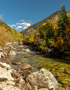 """This stream flows below the Old Mill along the rugged(4 Wheel ATV only) """"road"""""""