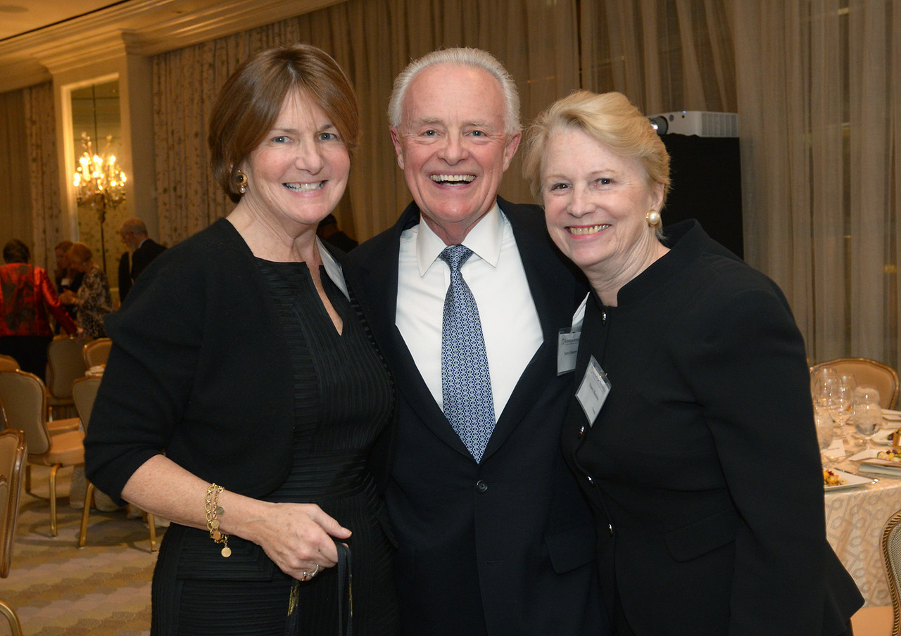Nancy and Terry Elsberry with Vice Chairman Nancy S. Maulsby.