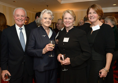 Terry Elsberry, Angela Lansbury,  Vice hairman Nancy S. Maulsby, and Nancy Elsberry.