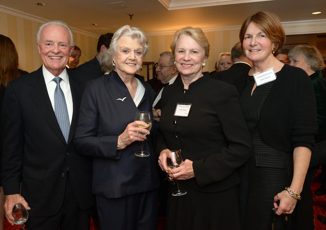 Terry Elsberry, Angela Lansbury,  Vice hairman Nancy S. Maulsby, and Nancy Elsberry.