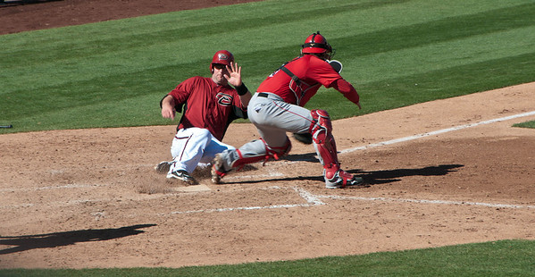 2011 Spring Training, Scottsdale - Angels vs Diamondbacks