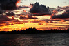 """Stormy Day Sunset"" (September 12, 2007)<br />   Lake Huron's Georgian Bay, Ontario Canada"