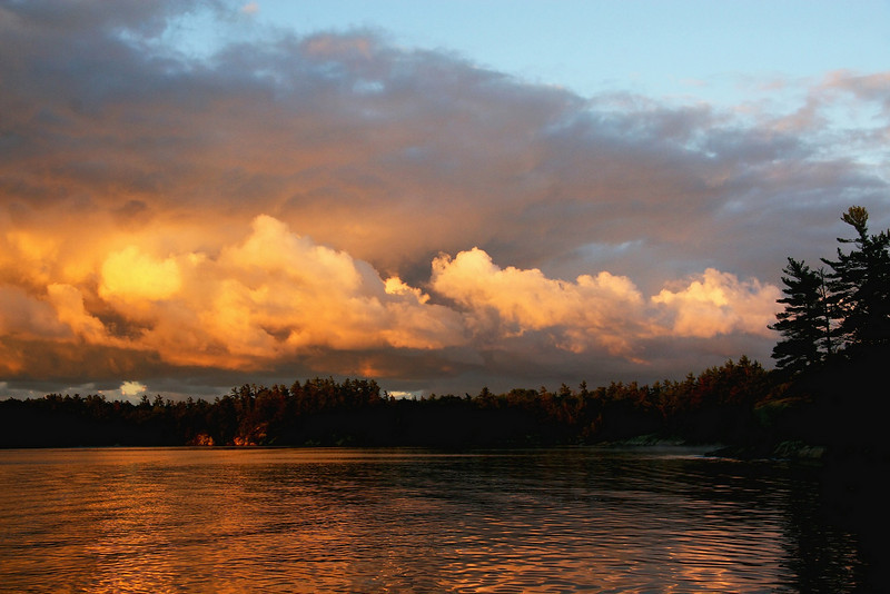 """Stormy Day Sunrise"" (September 12, 2007)<br />   Lake Huron's Georgian Bay, Ontario Canada"