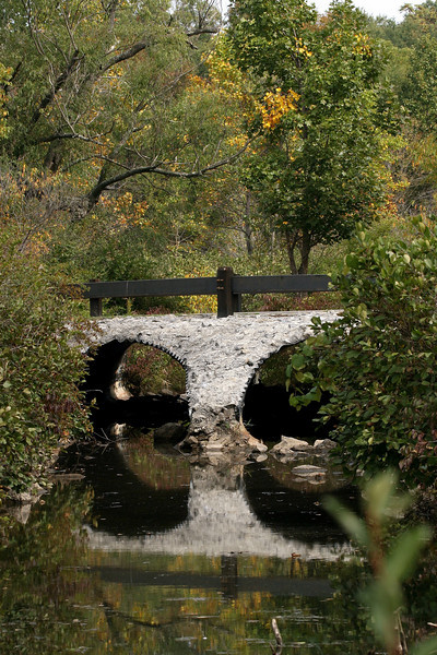 """Bridge Over Quiet Waters""<br />   Rocky Gap State Park, Maryland"