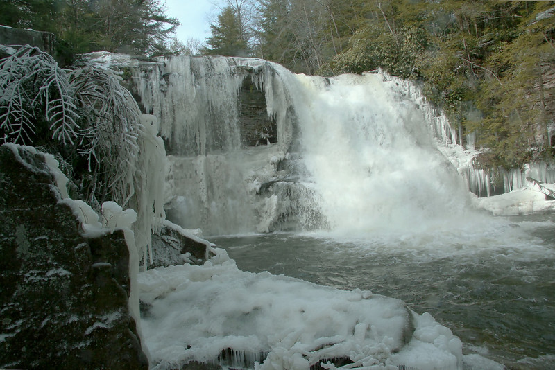 "Swallow Fall's State Park - ""Muddy Creek Falls"""