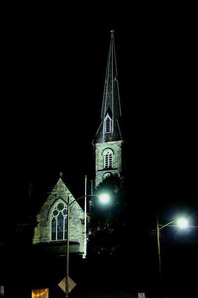 Episcopal Church (Greene St.) - After Dark-I