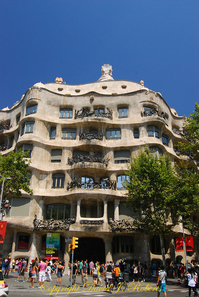 Gaudi Apartments, Barcelona, Spain