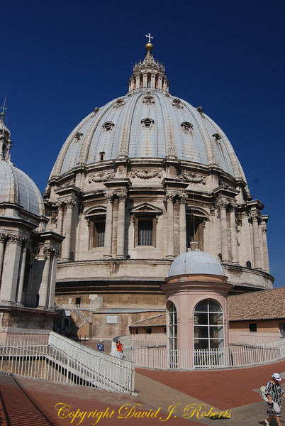 Dome of St Peters, Rome Italy