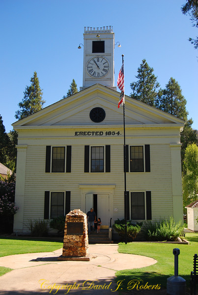 Courthouse, Mariposa, California