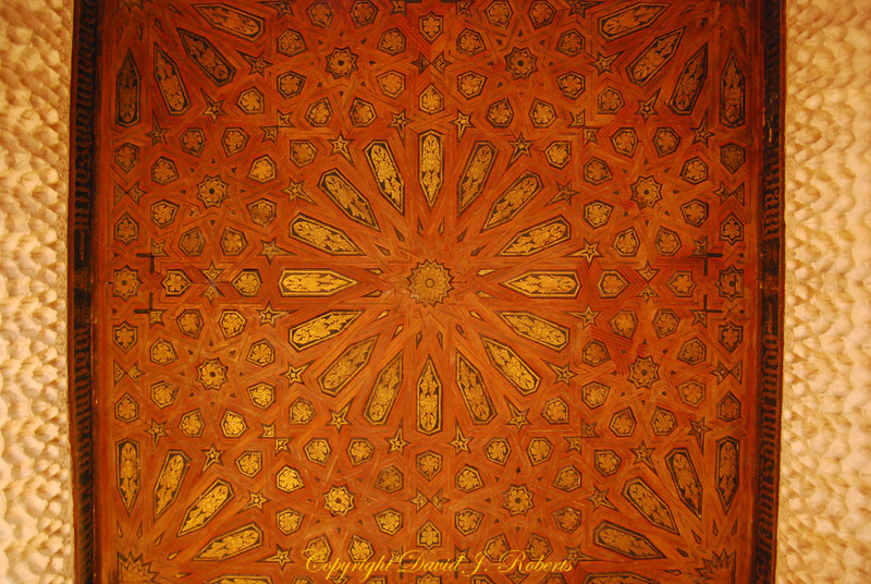 Leather ceiling, Alhambra, Grenada, Spain