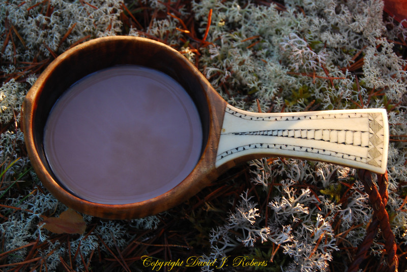 Hand made spoon in the Lapp style, Sweden