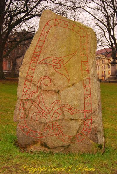 Rune stones, Uppsala University, Sweden