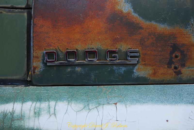 Old Dodge truck, Hartline, Washington
