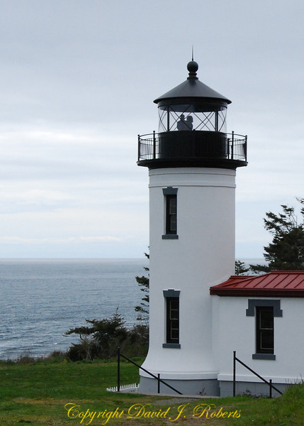 Lighthouse at Fort Casey State Park, Washington