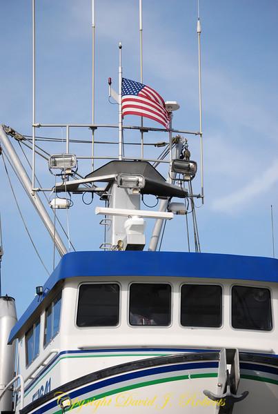 Fishing boat in Bellingham, WA