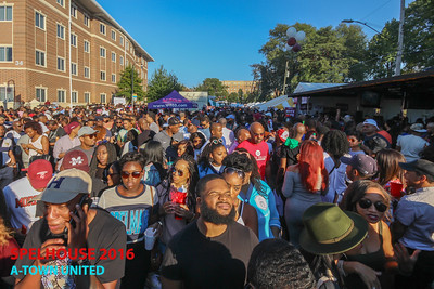 A-Town United Tailgate At SpelHouse Homecoming 10/29/16 Sponsored By ATL Barz