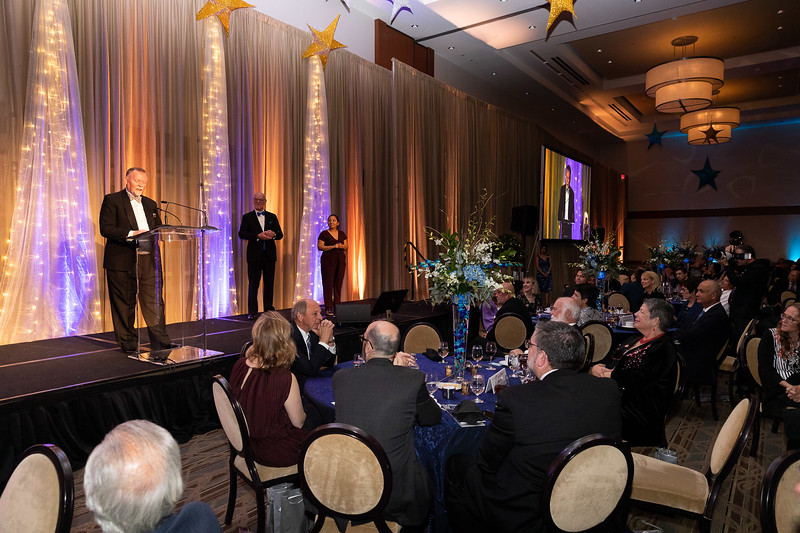 """Western University of Health Sciences held its annual fundraising gala, """"A Tribute to Caring,"""" on Saturday, November 9, 2019 at the Sheraton Fairplex Hotel & Conference Center in Pomona, California. ATC raises money for student scholarships while honoring two doctors who have made a difference."""