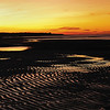 "The Glow of Sunset - Brewster Flats---""The flats took on a mysterious quality as dusk approached and the last evening light was reflected from the scattered pools and creeks."" <br /> RC--The Edge of the Sea"
