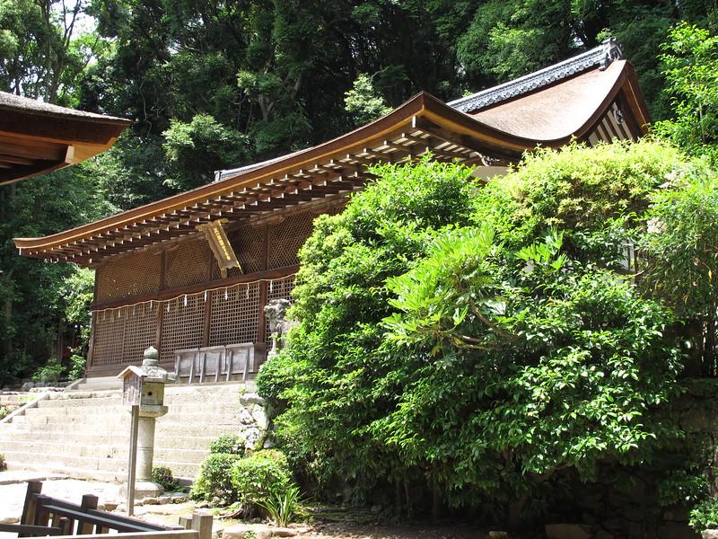 The Honden of Ujigami-jinja